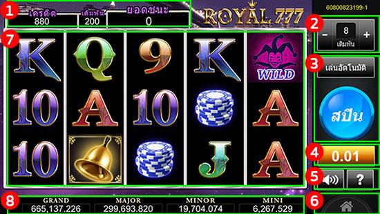 เกม Royal777 Casino